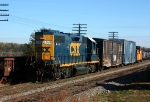 CSX 2539 heads west to switch PCA
