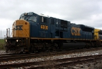 Built as Conrail 4124, then becoming CSX 810, this SD80MAC is now CSX 4600