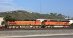 BNSF 5210 and 7829