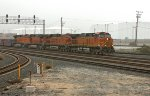BNSF 4074 southbound
