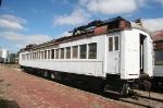 I'm not sure why, but this ex EL, nee DL&W Edison electric MU coach sits with the NKP museum collection