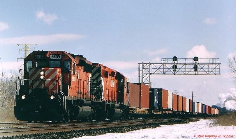 CP SD40-2 5609