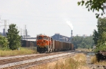 WB BNSF Coal Freight on the NS Main
