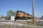 UP 5015 leads intermodal through Granite City ILL