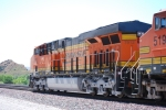 BNSF 7912 rolls past me as she heads down the Cajon Pass towards San Bernardino, Ca.