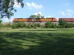 BNSF 4339 and 5440