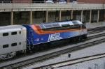 METX 420 backs into Union station