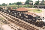 Coal loads pause on the ex VGN