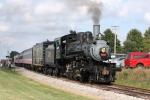 SOU 401, southbound passenger train