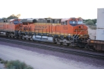 BNSF 7839 passes me by with her sister BNSF 7825 ahead of her/Lead Unit is BNSF 7804 as they roll west.