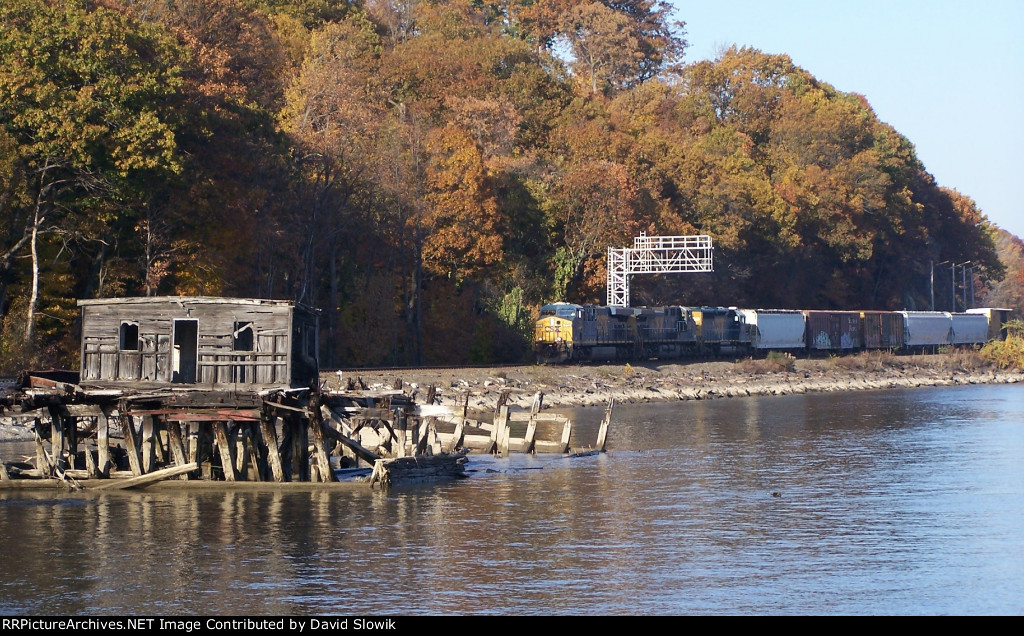 Fall on the river line