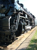 C&O #2776 at Washington Courthouse OH