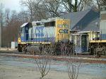 CSX 6138 at the depot