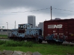 Deepwater Terminal center cab in NS yard