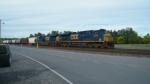 CSX salt train