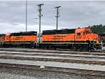 BNSF 2197 and 2233