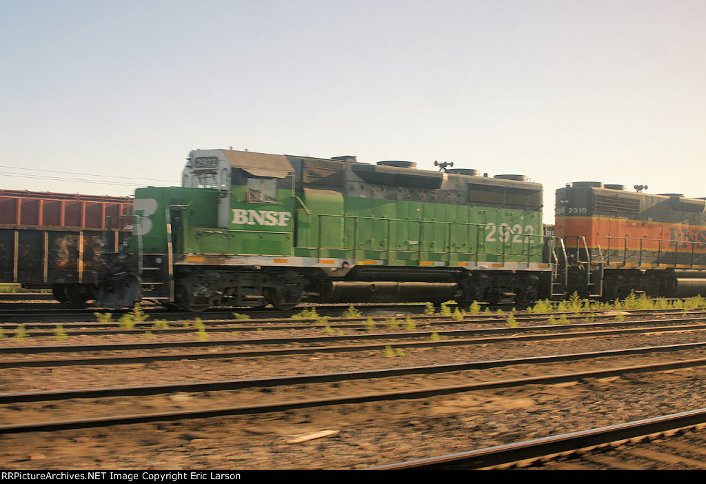 BNSF 2922