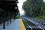 Amtrak Platform Dearborn Michigan