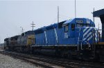 CEFX SD40M-2 Leaser on CSX Q370-20