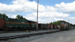 GFRR units wait for the call to duty in the yard at Albany in Sept 2010