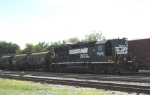 NS 7045 is the yard switcher at the NS Albany Yard in Sept 2010
