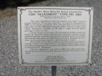 C&O 1604 plaque