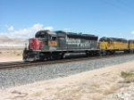 UP SD40-2M 2667, a derated SD45, at Apex, Nevada
