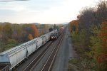The 20B, eastbound stacks