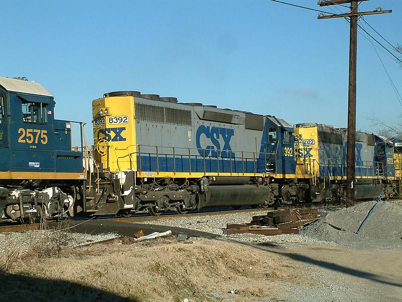 CSX 8392 is unit #3