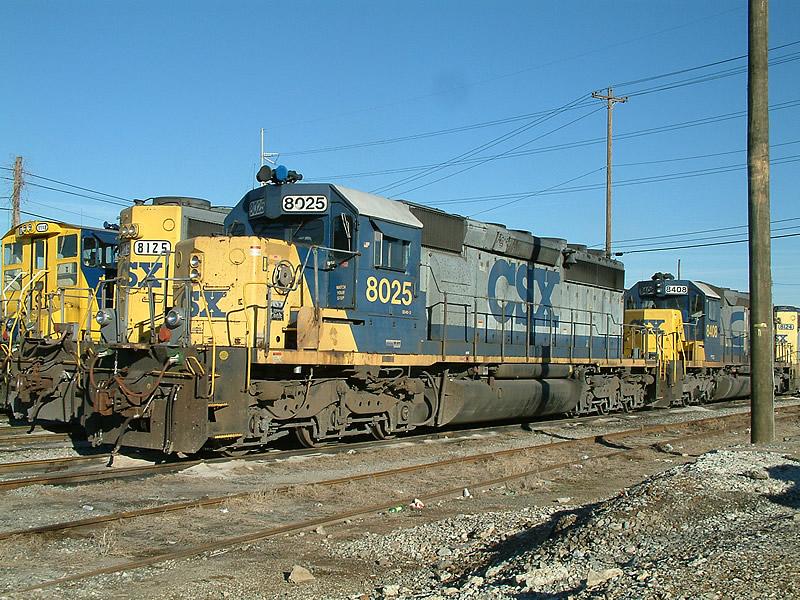 CSX 8025