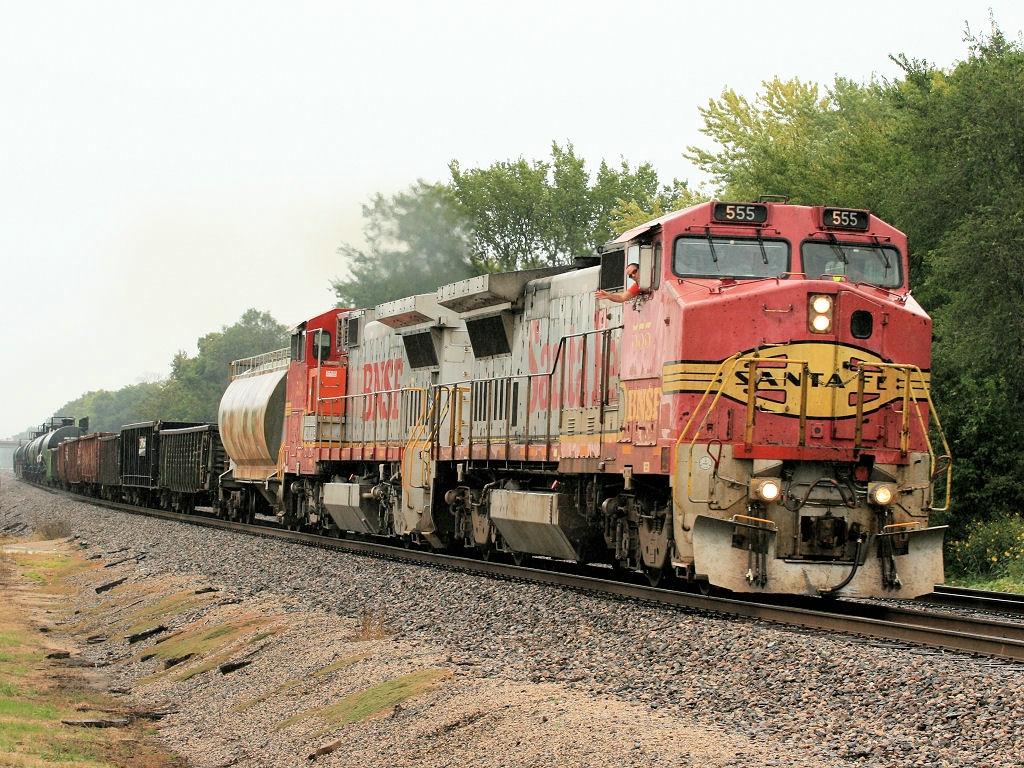 BNSF 555