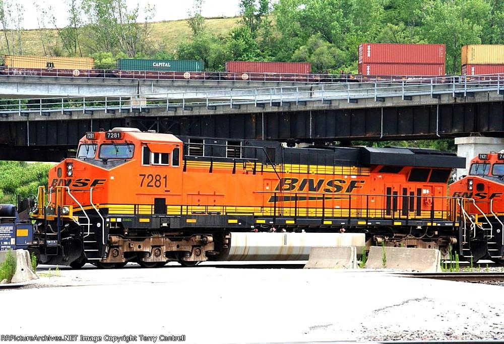 BNSF 7281
