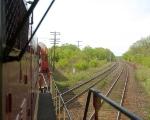 Crossing the Dundas sub at the Carew diamond