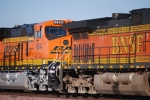 How Clean and Really Brand New GEVO's are when they first hit the Road!!!  BNSF 6644 ES44C4!!!