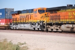 BNSF 6644 as she makes the curve into BNSF Barstow yard, CA.