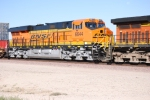 BNSF 6644 Full View as she starts to slow down for a crewchange at the BNSF Barstow yard, Ca.