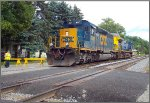 CSX 4007 and 44