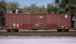 BNSF #722604, rostered as an Equipped Box Car,