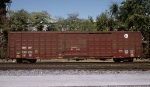 BNSF #759732, rostered as an Equipped Box Car with nailable steel floor,