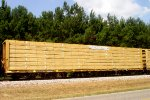TTZX #866227, with a load of finished lumber,