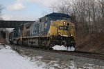CSXT U818 Shen Jan 14th 2011
