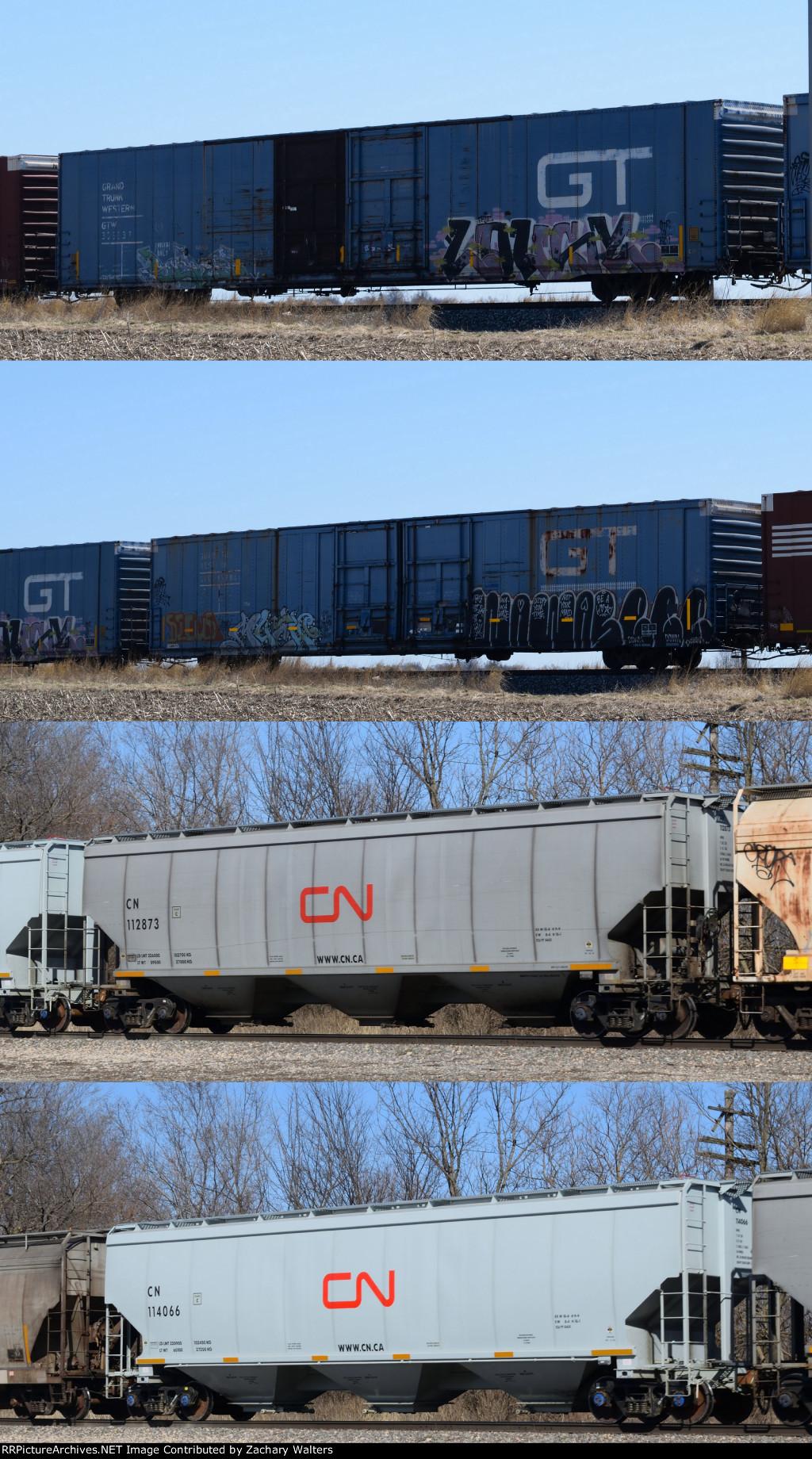 GTW CN Cars