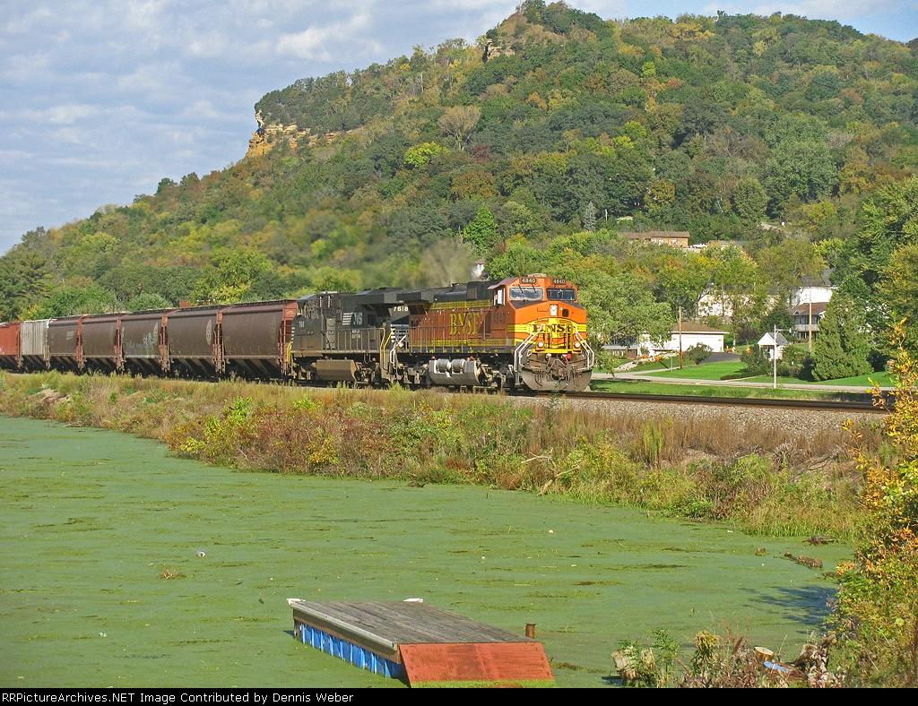 BNSF 4840,  BNSF's  St.Croix  Sub.
