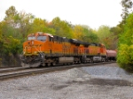 BNSF 7836 and 5014