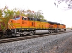BNSF 5014 and 7836