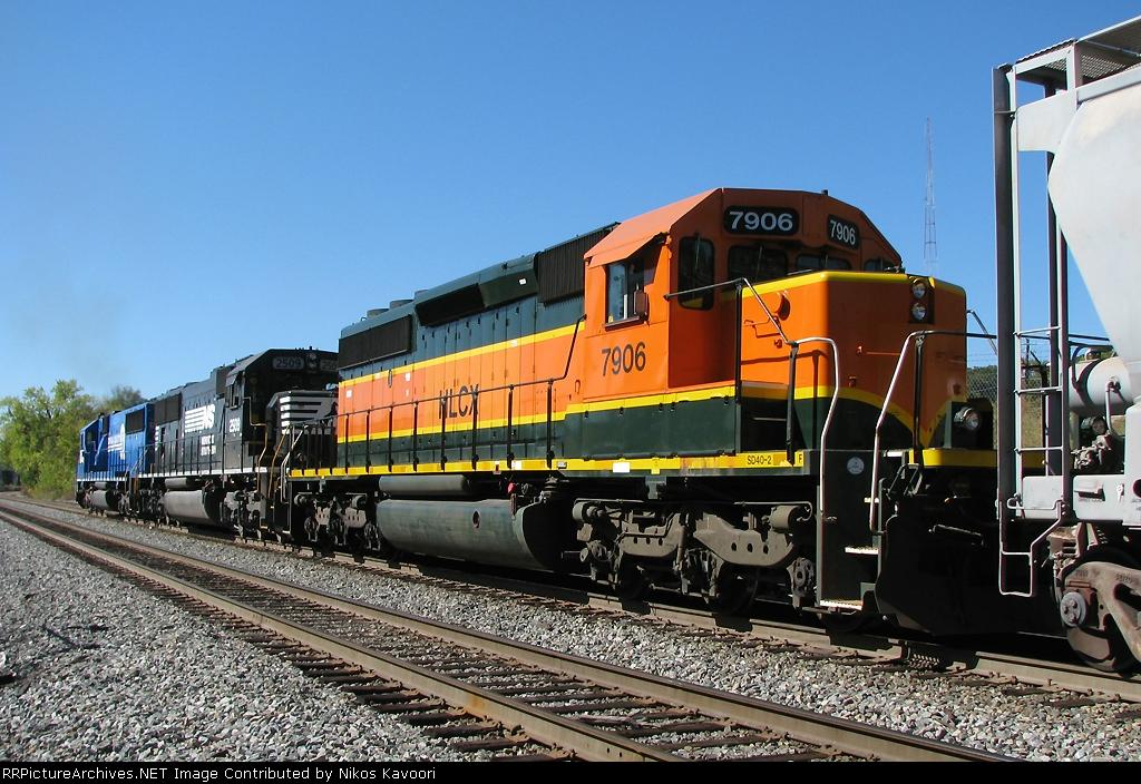 HLCX 7906 - Ex BNSF