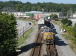 NS 226 snakes off the East end