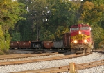 BNSF 775 leading 187 off the third main
