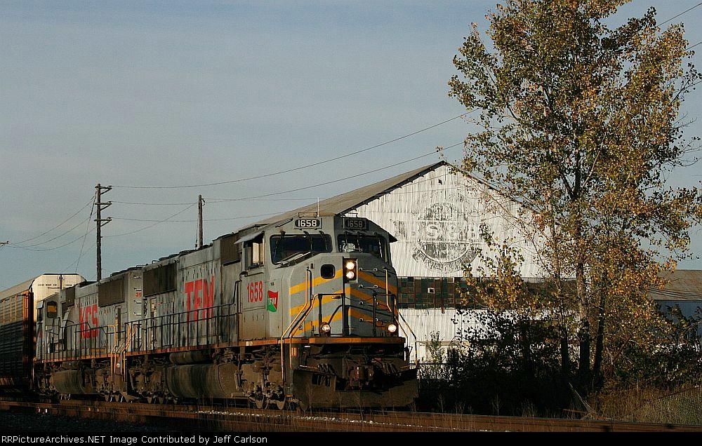 WB Schneider train on the KCS