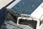 BNSF 9755 cab roof detail